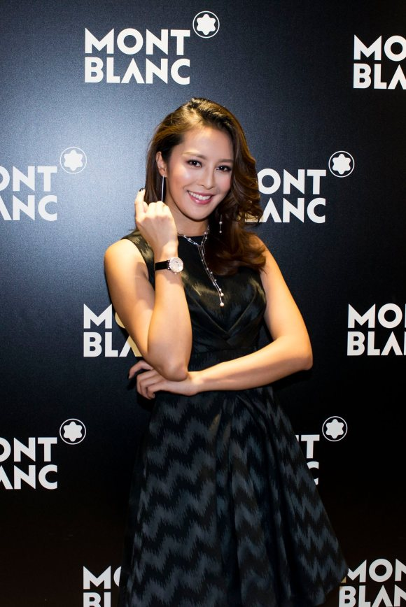 The host of the event was the gorgeous Kelly Cheung